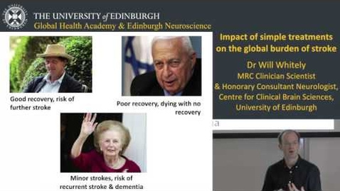 Thumbnail for entry Impact of simple treatments on the global burden of stroke