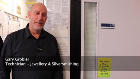 Thumbnail for entry Jewellery and Silversmithing Workshop - cleaning briefing