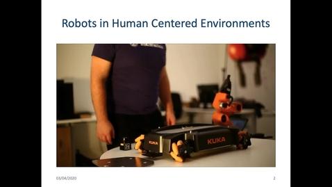 Thumbnail for entry Robots in Human Centred Environments  - Dr. Subramanian Ramamoorthy (Informatics/Robotics)