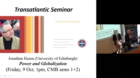 Thumbnail for entry Dr Alan Convery (University of Edinburgh)
