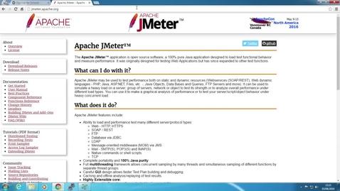 Thumbnail for entry [EDINA Labs] Simulating user load using JMeter