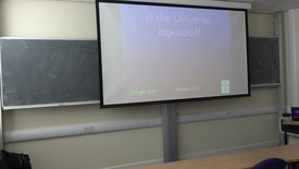 Thumbnail for entry Douglas Scott (University of British Columbia): Is the Universe lop-sided? - Higgs Centre Colloquium