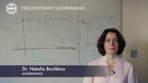 Thumbnail for entry Natalia Bochkina- Mathematics- Research In A Nutshell - School of Mathematics -18/04/2012