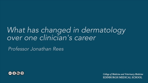 Thumbnail for entry What has changed in dermatology?