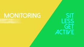 Thumbnail for entry Sit Less Get Active - Week 1 Video 3 - Monitoring physical activity