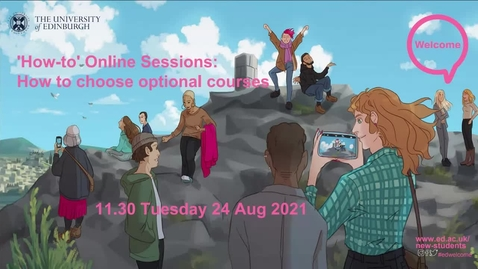 Thumbnail for entry (UG) How-to choose your optional courses: what optional courses are, how they fit into your degree structure