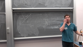 "Thumbnail for entry Zohar Komargodski - Higgs Centre School of Theoretical Physics:  ""Aspects of Renormalization Group Flows"" - lecture 2"