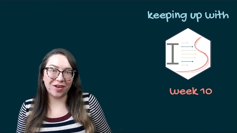 Thumbnail for entry IDS - Week 10 - 01 - Keeping up with IDS