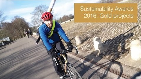 Thumbnail for entry Sustainability Awards 2016: Office team gold projects