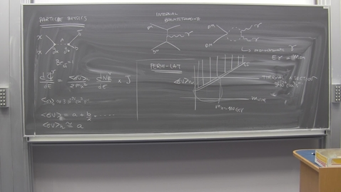 Thumbnail for entry Dark matter and its potential connection to LHC physics