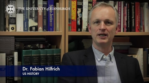 Thumbnail for entry Dr Fabian Hilfrich -US History- Research in a Nutshell