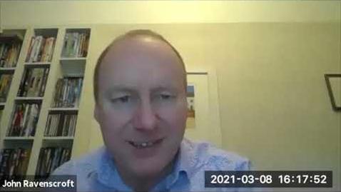 Thumbnail for entry Conversations on CVI: John Ravenscroft: Part 2
