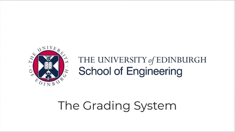 Thumbnail for entry How do we grade work in the School of Engineering