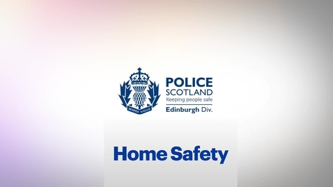 Thumbnail for entry Student Safety - Home Safety