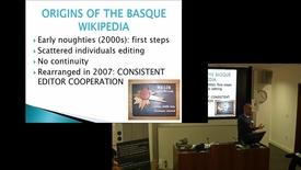 Thumbnail for entry Developing the Basque Wikipedia: From corpus expansion to outreach - Iñaki Lopez de Luzuriaga