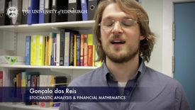 Thumbnail for entry Goncalo Dos Reis-Stochastic Analysis & Financial Mathematics- Research In A Nutshell - School of Mathematics -16/06/2015