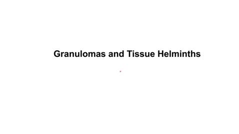 Thumbnail for entry Th2_Wk5_HelminthImmunity_7_granulomas