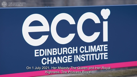 Thumbnail for entry Royal visit recognises pioneering climate change initiatives