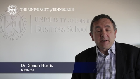 Thumbnail for entry Simon Harris-Business-Research In A Nutshell-Business School-24/01/2013
