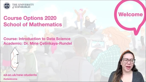 Thumbnail for entry Mathematics - Introduction to Data Science