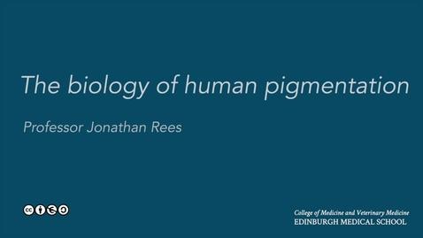 Thumbnail for entry Skin biology: pigmentation