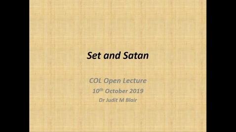 Thumbnail for entry Set and Satin. Judit Blair
