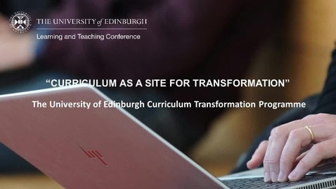 Thumbnail for entry LTC 2021 - E7 Curriculum Transformation