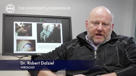 Thumbnail for entry Robert Dalziel - Virology - Research In A Nutshell - Royal (Dick) School of Veterinary Studies -13/03/2013