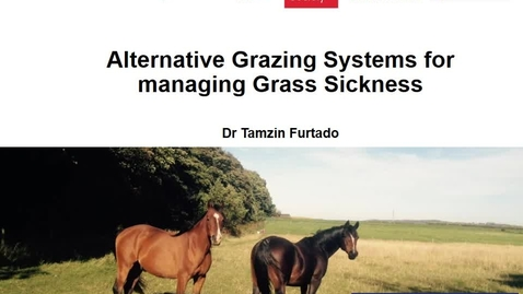 Thumbnail for entry Alternative Grazing Systems
