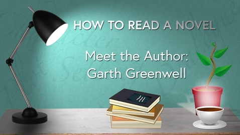 Thumbnail for entry How to Read a Novel Online MOOC Course: WK2 CHARACTERISATION - Meet the Author - Garth Greenwell
