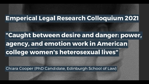 Thumbnail for entry Edinburgh Legal Research Network Colloquium - Part 4