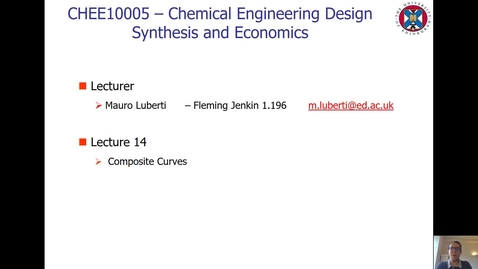 Thumbnail for entry Lecture 14 - Composite Curves