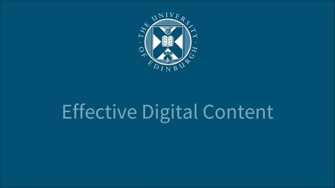 Thumbnail for entry Link placement - Effective Digital Content