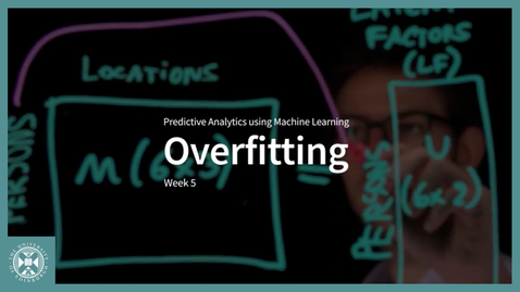 Thumbnail for entry Overfitting