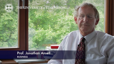 Thumbnail for entry Jonathan Ansell-Business-Research In A Nutshell-Business School-26/07/2013