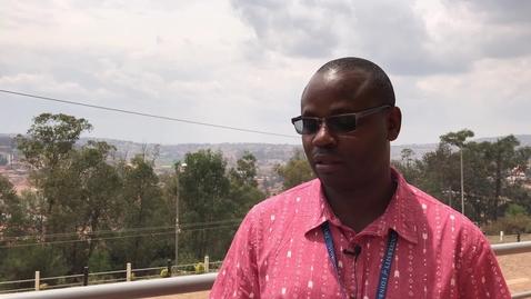 Thumbnail for entry MSc International Animal Health online: Dennis Muhanguzi, graduate testimonial
