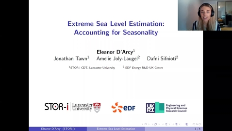Thumbnail for entry Eleanor D'Arcy EVA Talk Preview