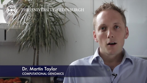 Thumbnail for entry Martin Taylor -Computational Genomics-Research In A Nutshell- MRC Institute of Genetic and Molecular Medicine-31/08/2012