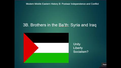 Thumbnail for entry 3B Brothers in the Bath Syria and Iraq pt.1