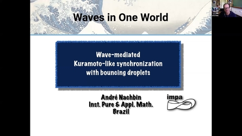 Thumbnail for entry One World Waves - A Nachbin