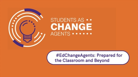 Thumbnail for entry Students As Change Agents - Learning & Teaching Conference 2020