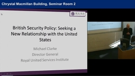 Thumbnail for entry Michael Clarke (Director General, Royal United Services Institute)