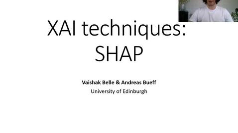 Thumbnail for entry XAI Lecture Recording - SHAP (Part 1)