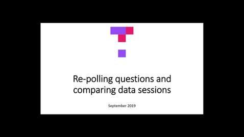 Thumbnail for entry Re-polling questions and comparing data sessions with the new Top Hat interface