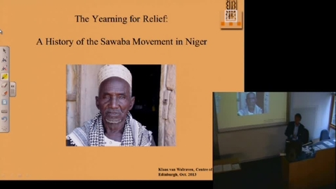 Thumbnail for entry The Yearning for Relief- The history of the Sawaba movement and its rebellion in Niger (1954-1974) - Klaas van Walraven