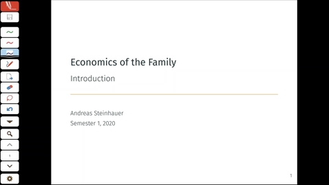 Thumbnail for entry Economics of the Family 1.1 - Introduction