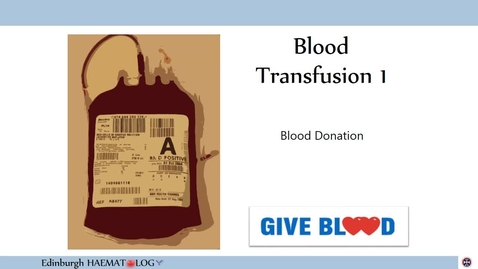 Thumbnail for entry BT1 Blood Donation