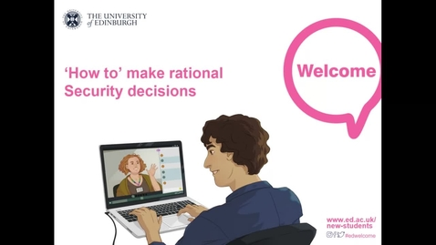 Thumbnail for entry How- to make Rational Security Decisions