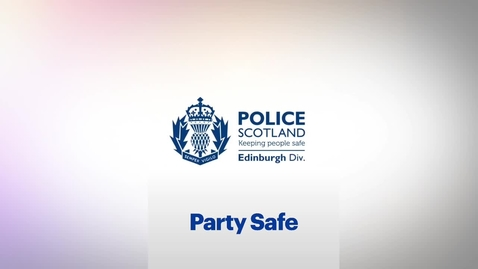 Thumbnail for entry Student Safety - Party Safe