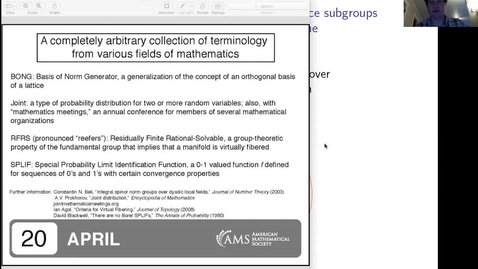 Thumbnail for entry Virtually algebraically fibered congruence subgroups - Ian Agol